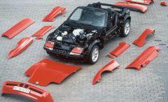 BMW Z1 monocoque