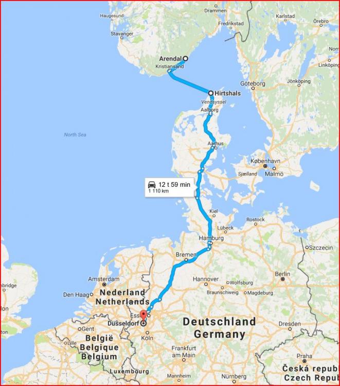 langhelg til en by i europa