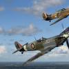 Supermarine Spitfire og Hawker Hurricane