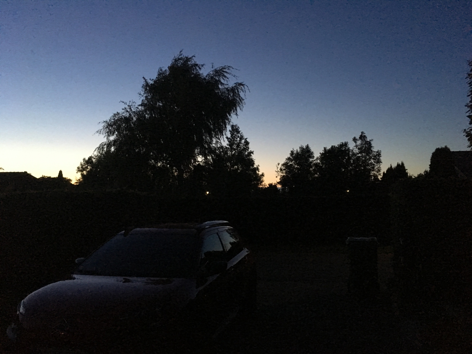 Lyset mot nord 10.08.2017