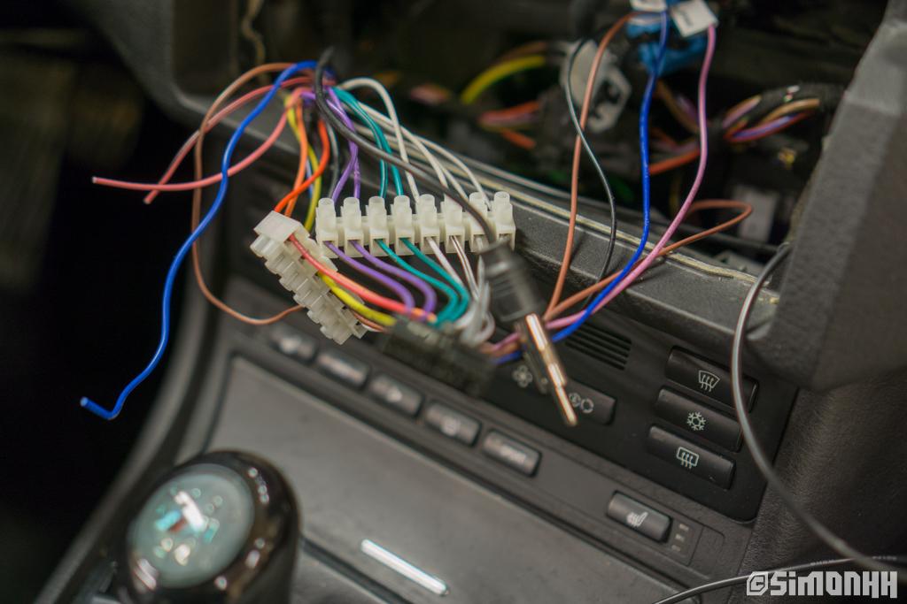 """DIY info Erisin 9"""" i E46 (og generelt bytte av stereo"""
