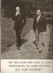 Kong Haakon VII og Kronprins Olav