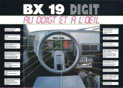 "1985 Citroën BX ""Digit"" instrumentpanel"