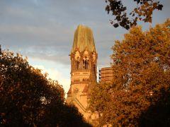 Frauenkirche, Berlin, i solnedngang