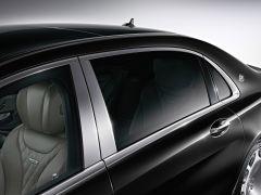 Mercedes-Maybach løsning for bakdøren