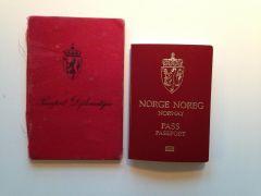 Norsk pass anno 1941 og 2015