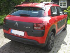 Citroën C4 Cactus 3/4 bak