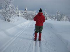 Ego klar for vinterfjellet på Gålå