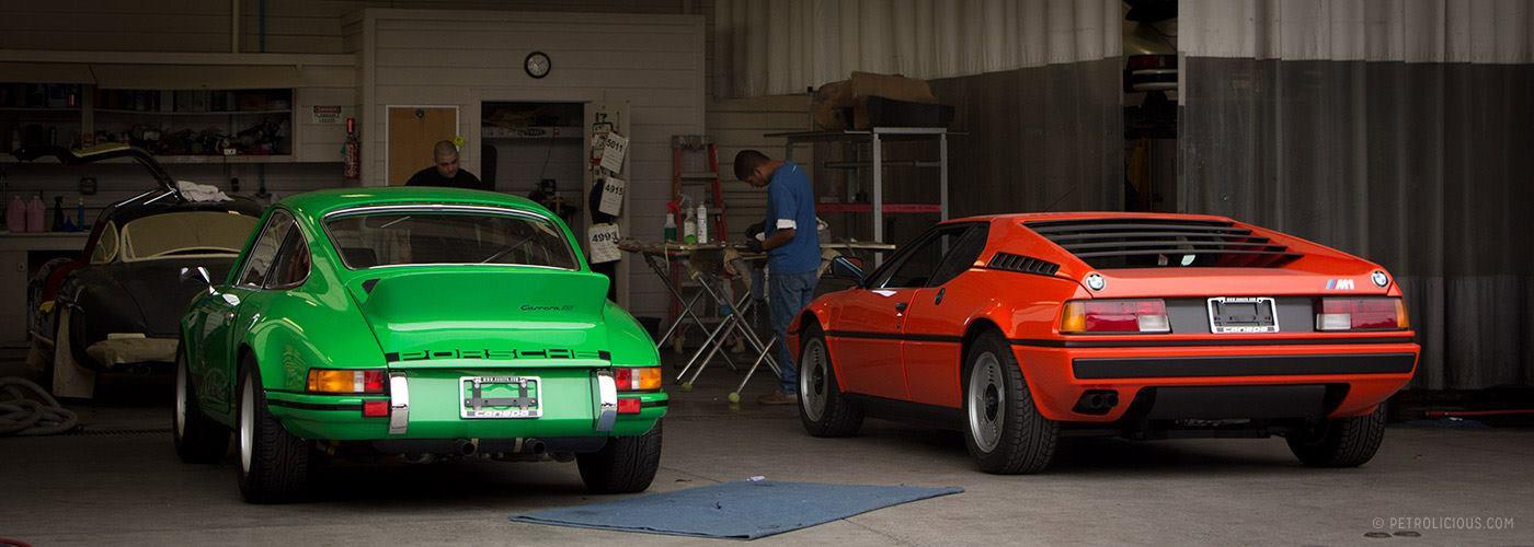 En kul garasje
