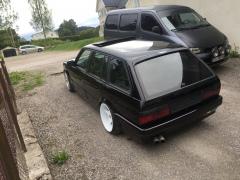 BMW e30 Touring prosjekt for en venn.